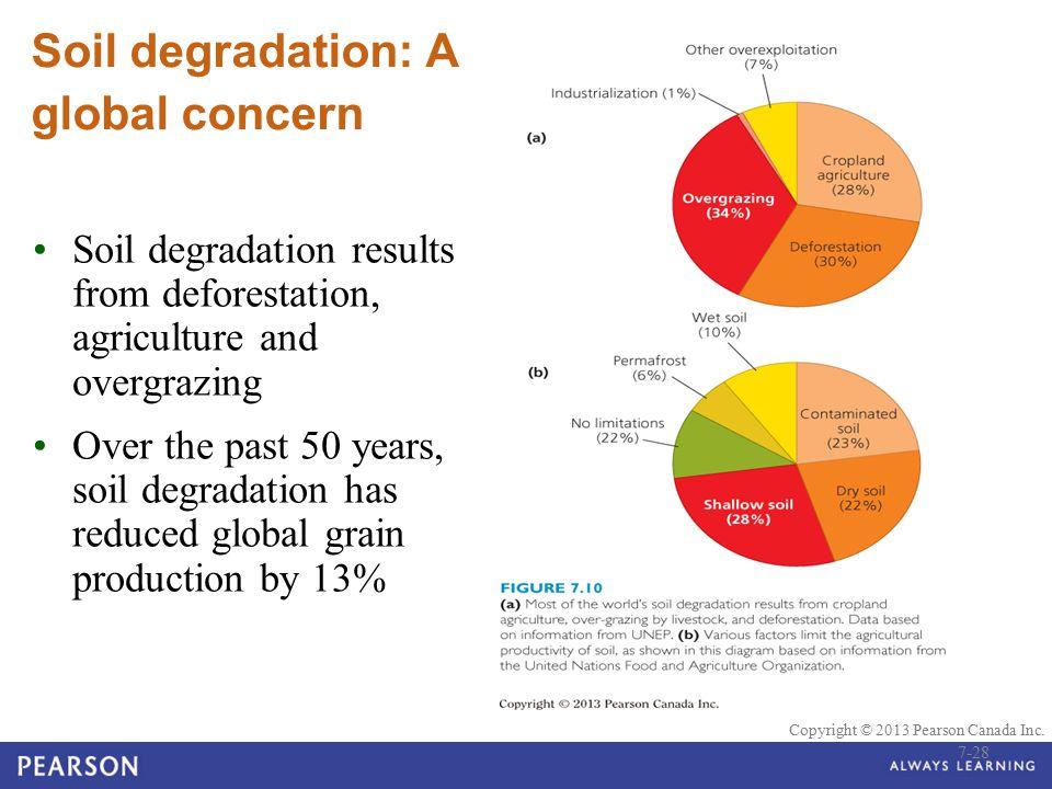Soil degradation: A global concern