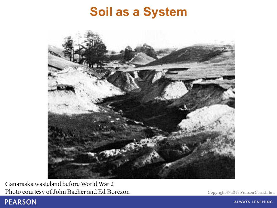 Soil as a System Ganaraska wasteland before World War 2 Photo courtesy of John Bacher and Ed Borczon.