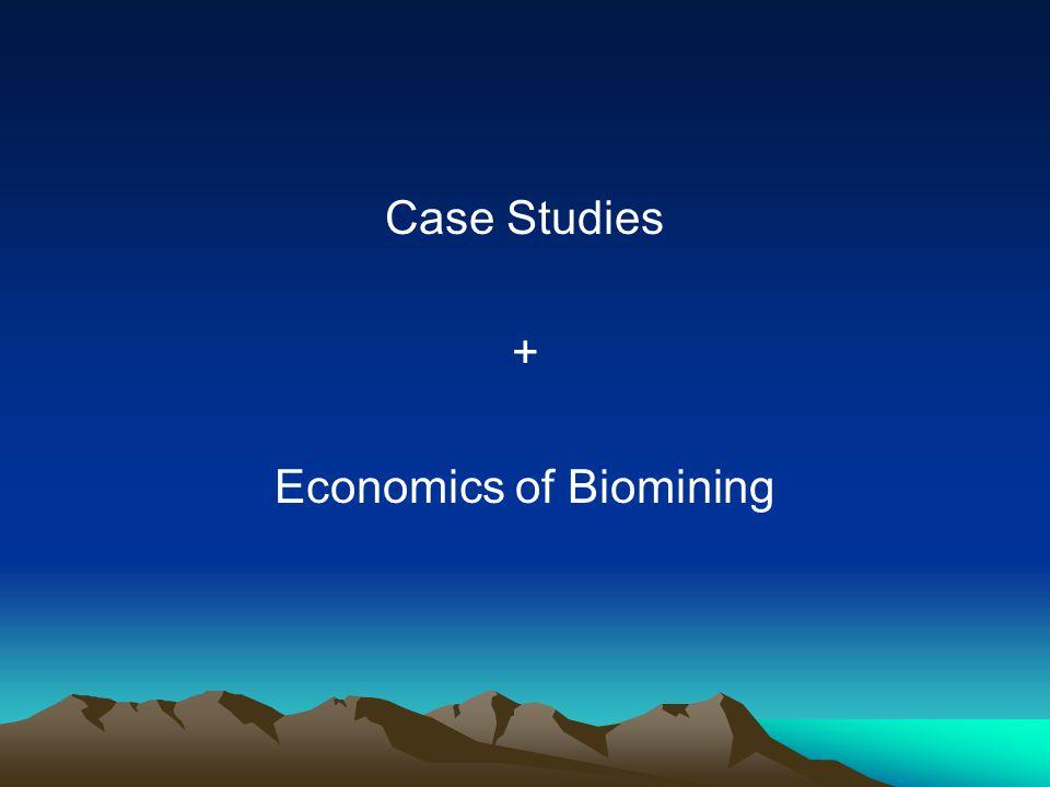 Economics of Biomining