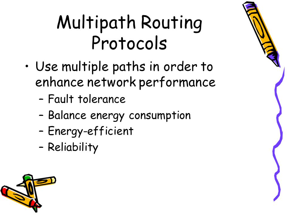 Multipath Routing Protocols