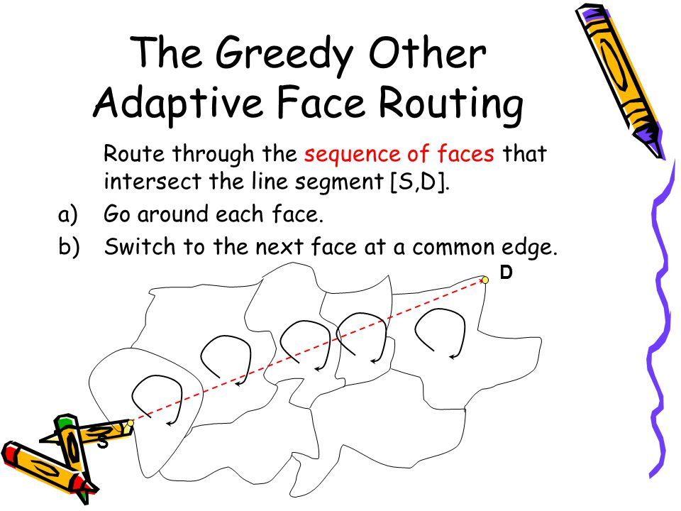 The Greedy Other Adaptive Face Routing
