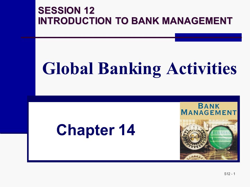 Global Banking Activities