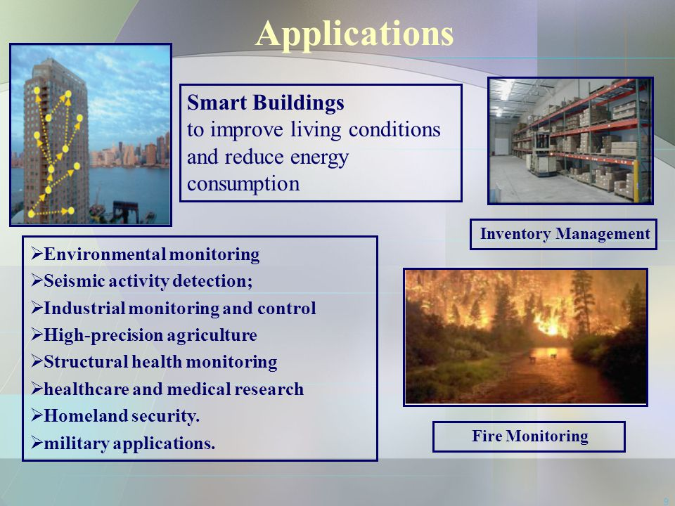 Applications Smart Buildings