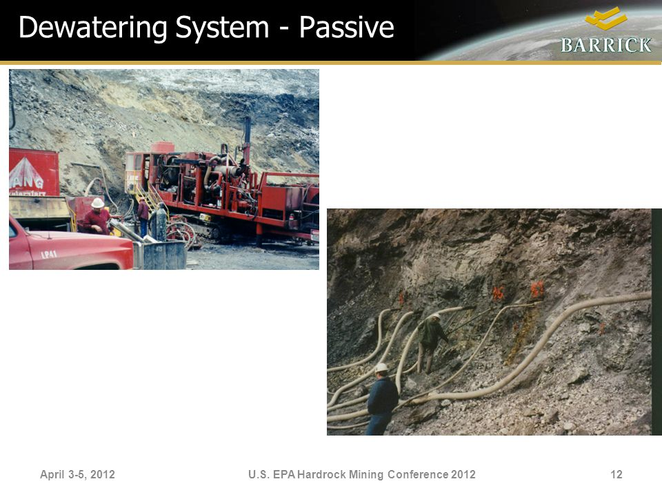 Dewatering System - Passive