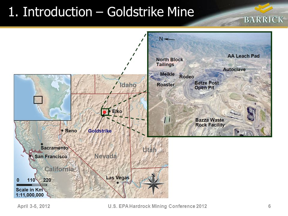 1. Introduction – Goldstrike Mine