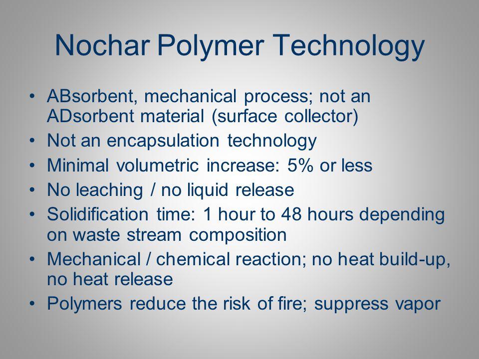 Nochar Polymer Technology