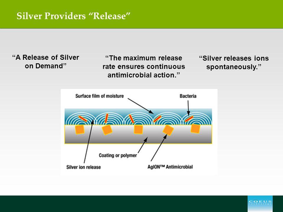 Silver Providers Release