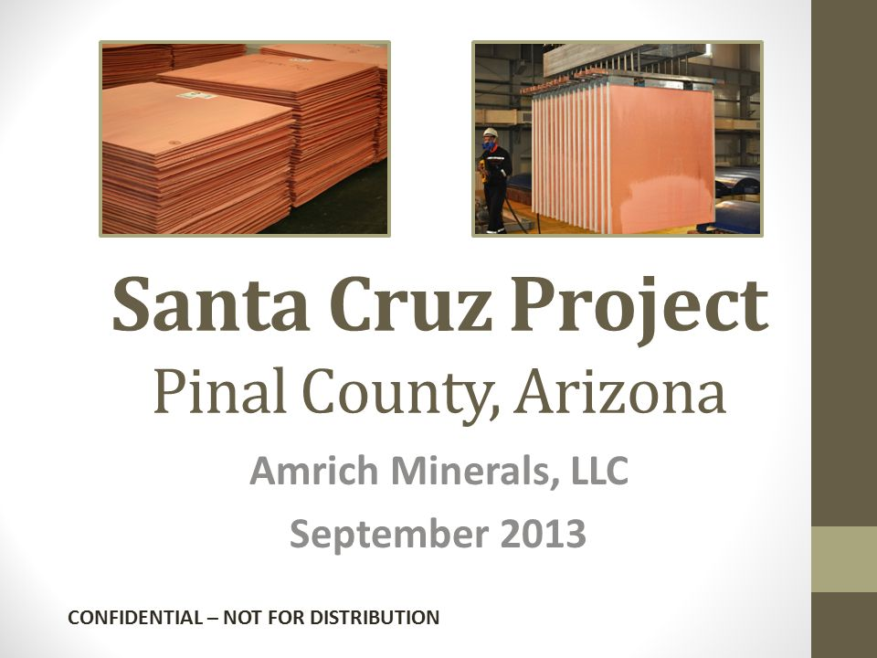 Santa Cruz Project Pinal County, Arizona