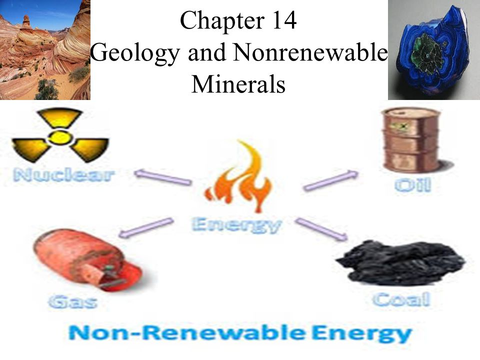Chapter 14 Geology and Nonrenewable Minerals