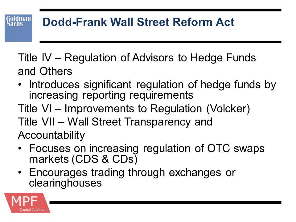 Dodd-Frank Wall Street Reform Act
