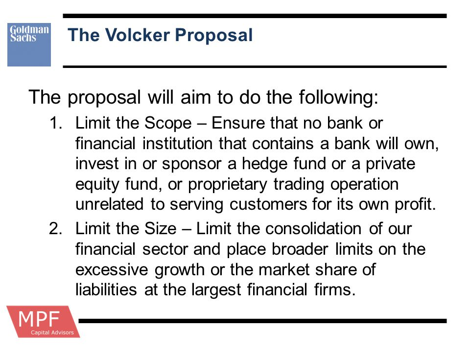 The proposal will aim to do the following: