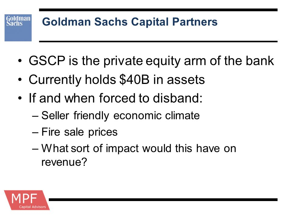 Goldman Sachs Capital Partners