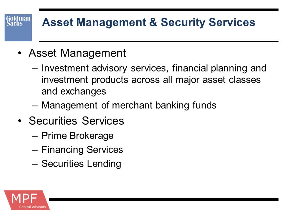 Asset Management & Security Services