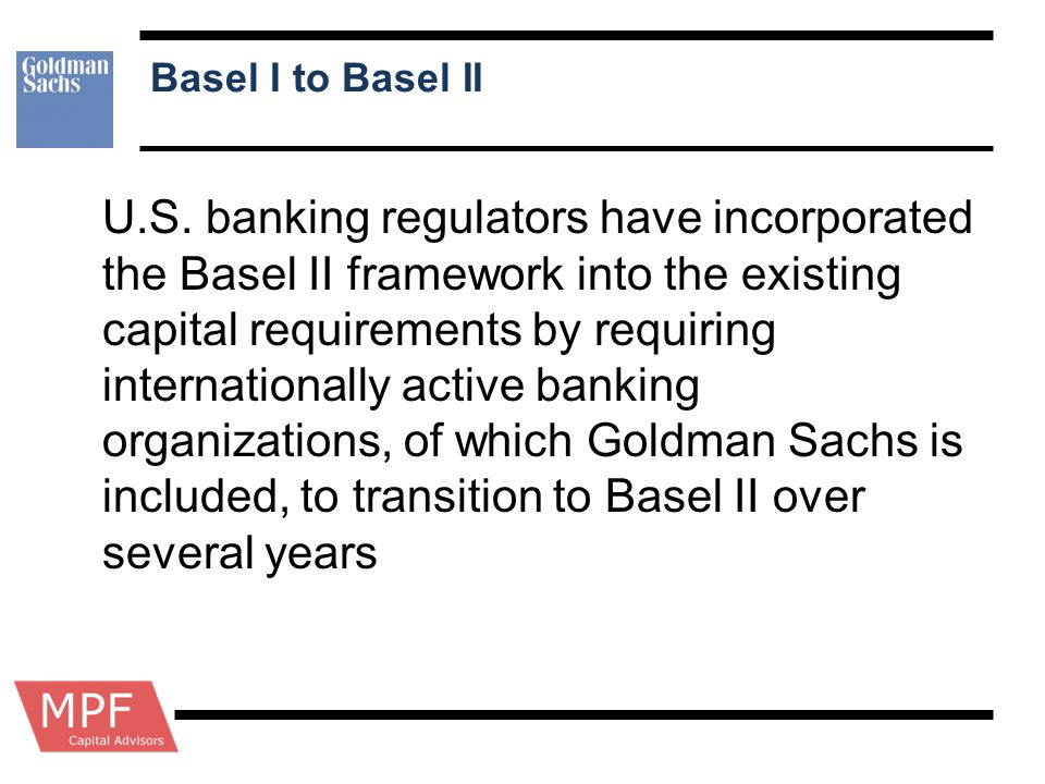 Basel I to Basel II