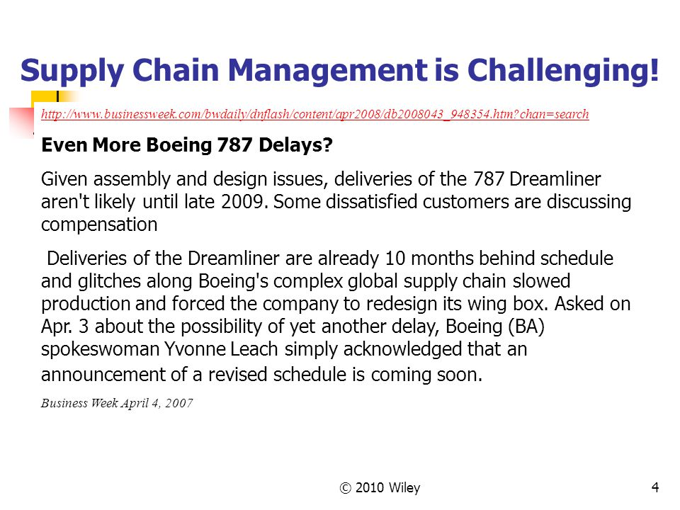 Supply Chain Management is Challenging!