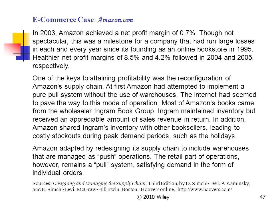 E-Commerce Case: Amazon.com