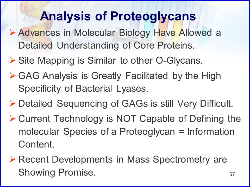 Analysis of Proteoglycans
