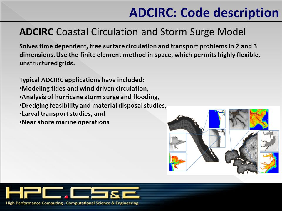 ADCIRC: Code description