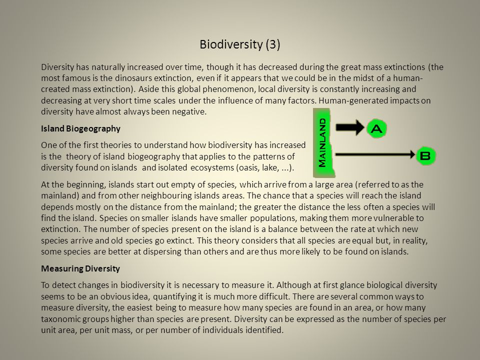 Biodiversity (3)