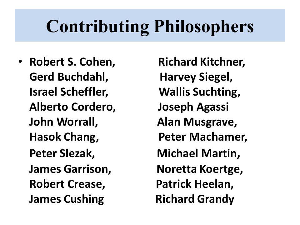Contributing Philosophers