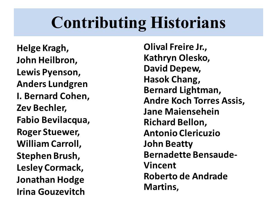 Contributing Historians