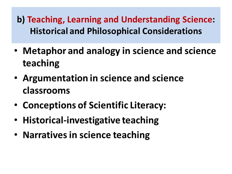 Metaphor and analogy in science and science teaching