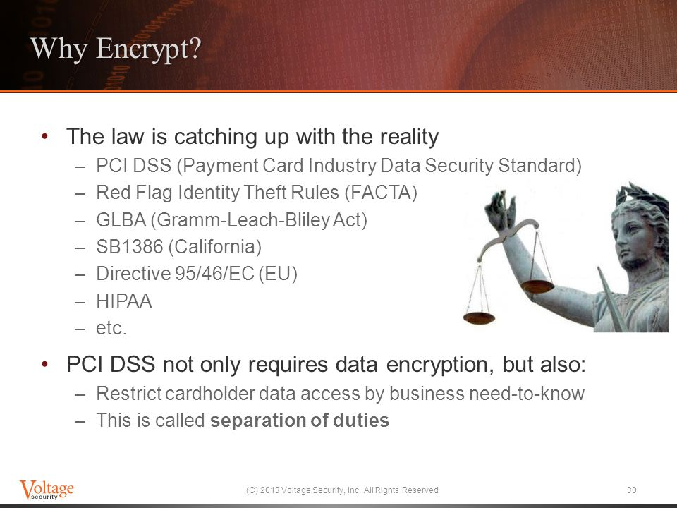 (C) 2013 Voltage Security, Inc. All Rights Reserved