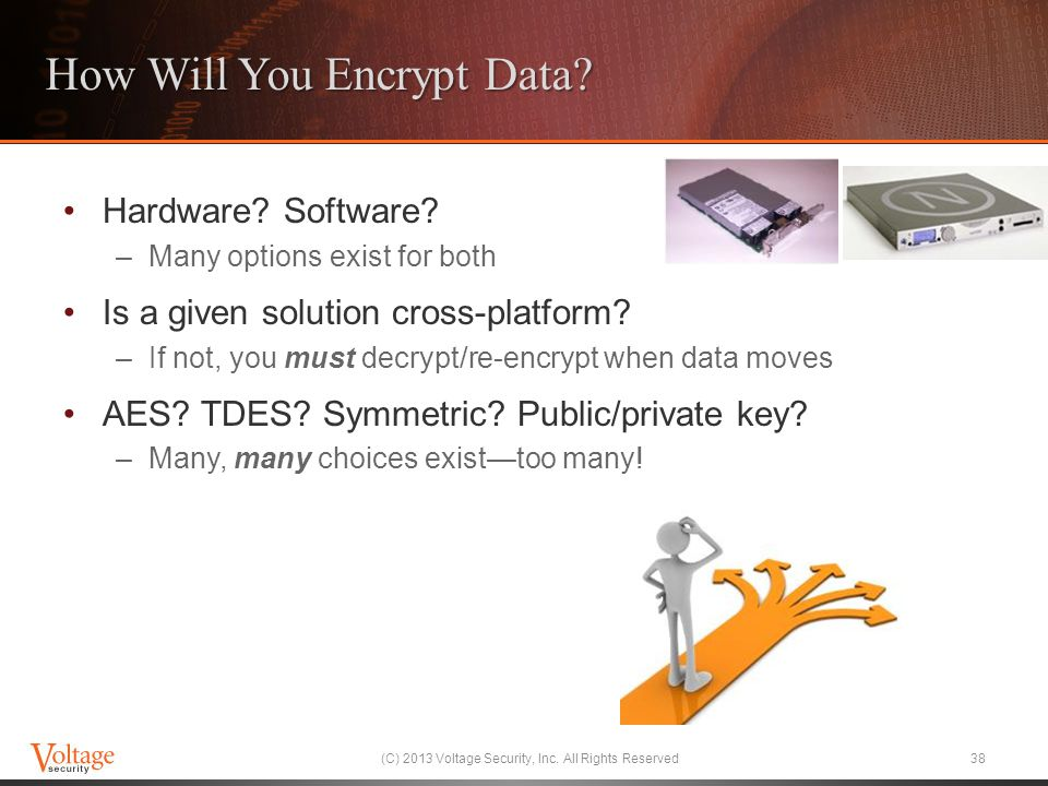 How Will You Encrypt Data
