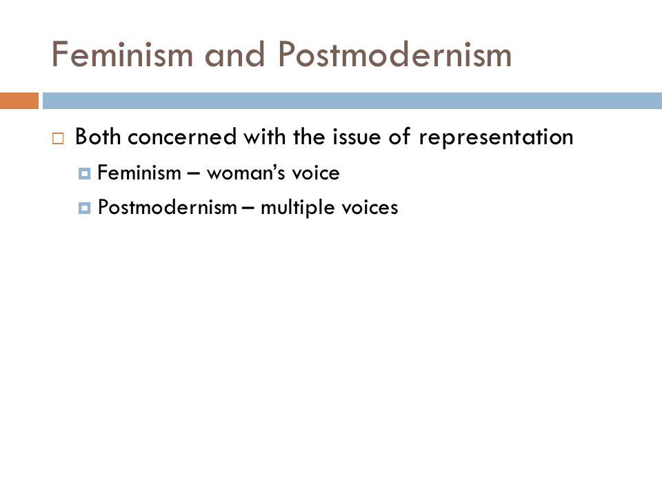 Feminism and Postmodernism