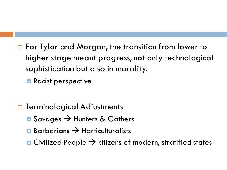 Terminological Adjustments