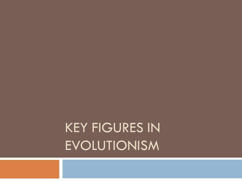 Key Figures in Evolutionism