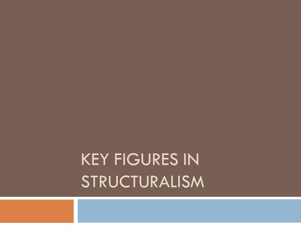 Key Figures in Structuralism