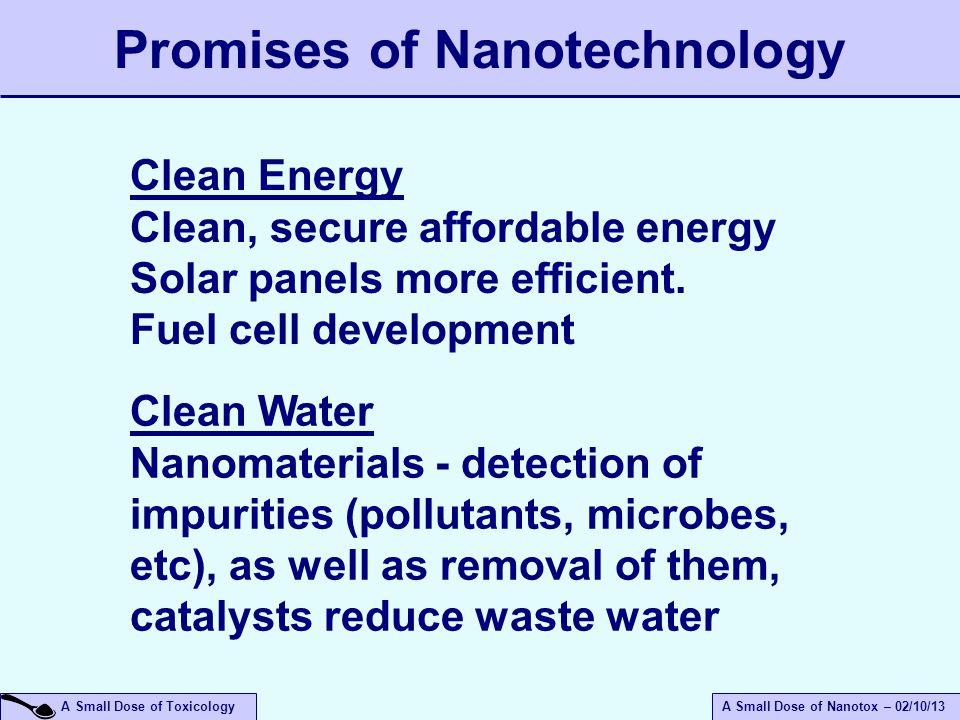 Promises of Nanotechnology