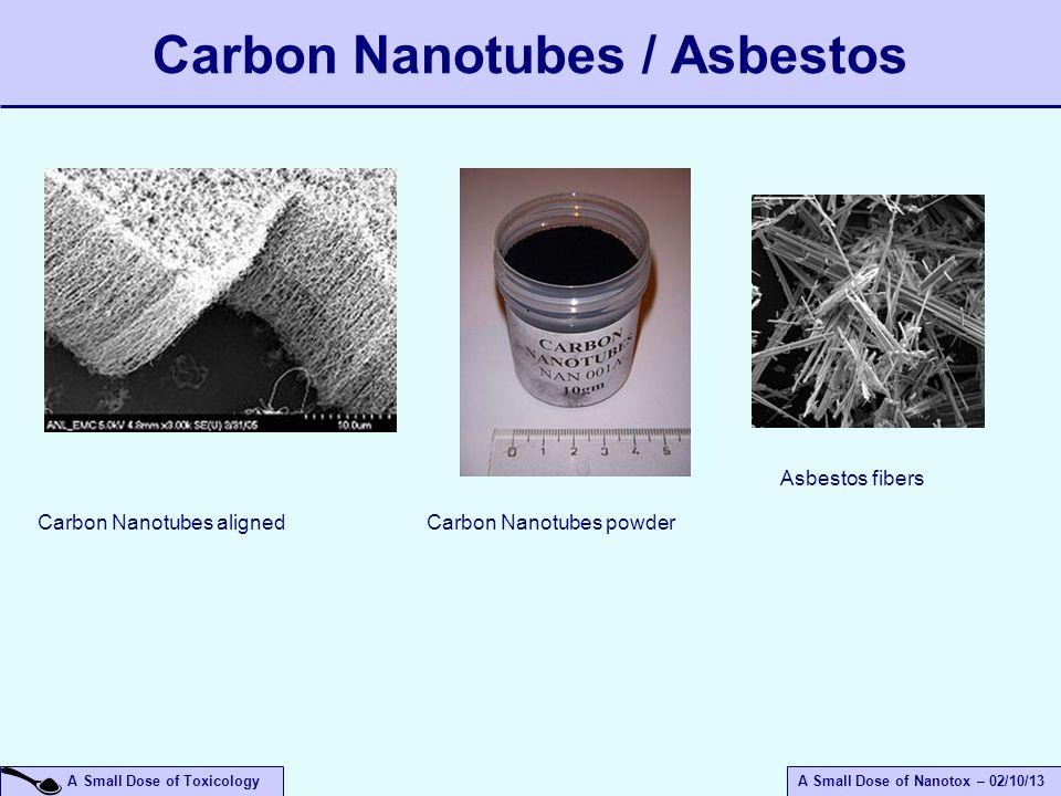 Carbon Nanotubes / Asbestos