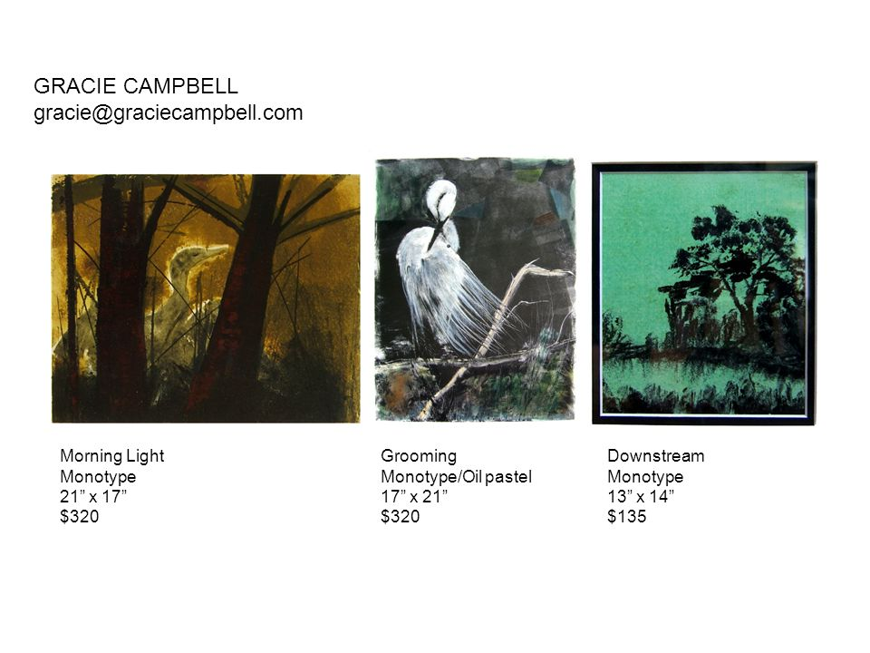 GRACIE CAMPBELL gracie@graciecampbell.com Morning Light Monotype