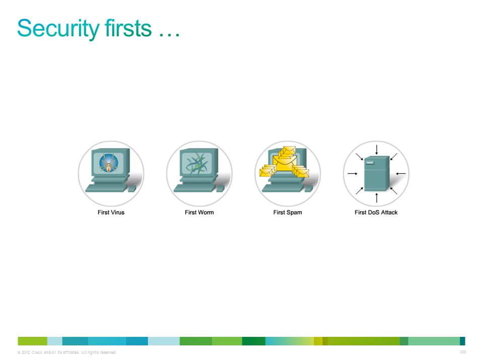 Security firsts …