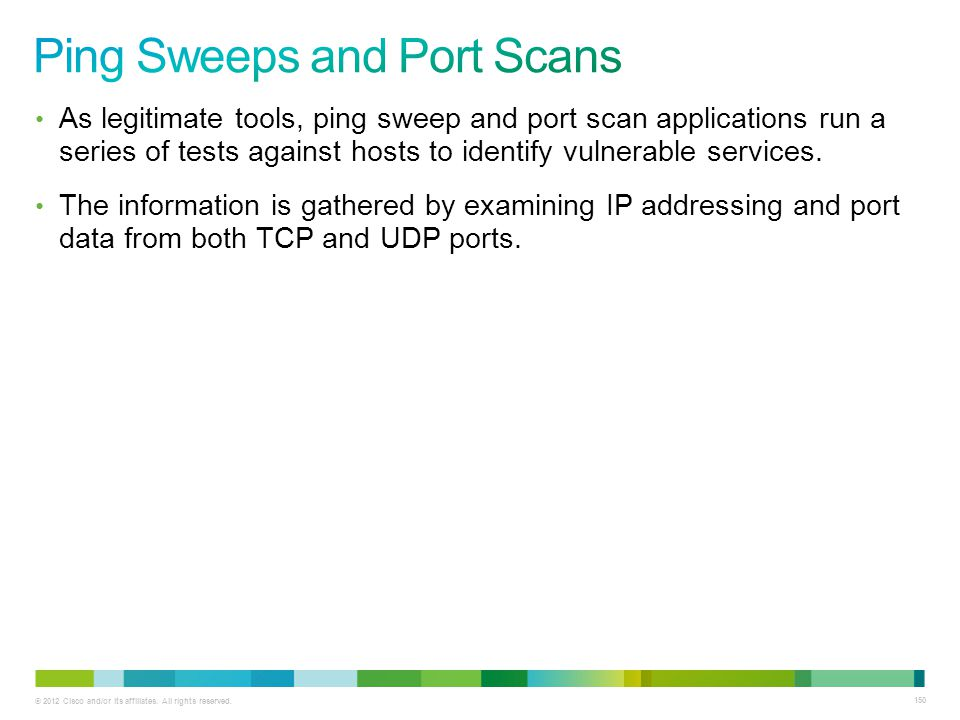 Ping Sweeps and Port Scans