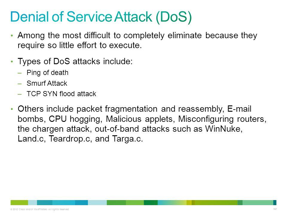 Denial of Service Attack (DoS)