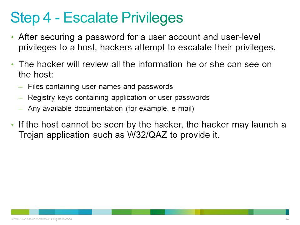 Step 4 - Escalate Privileges