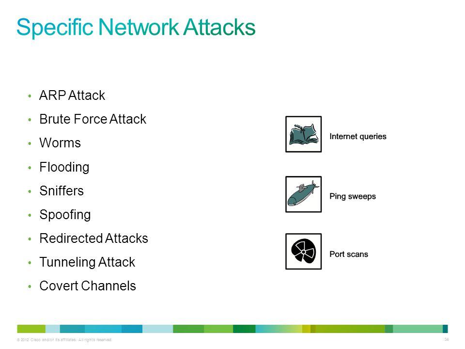 Specific Network Attacks