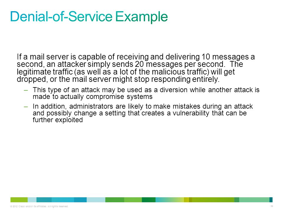 Denial-of-Service Example