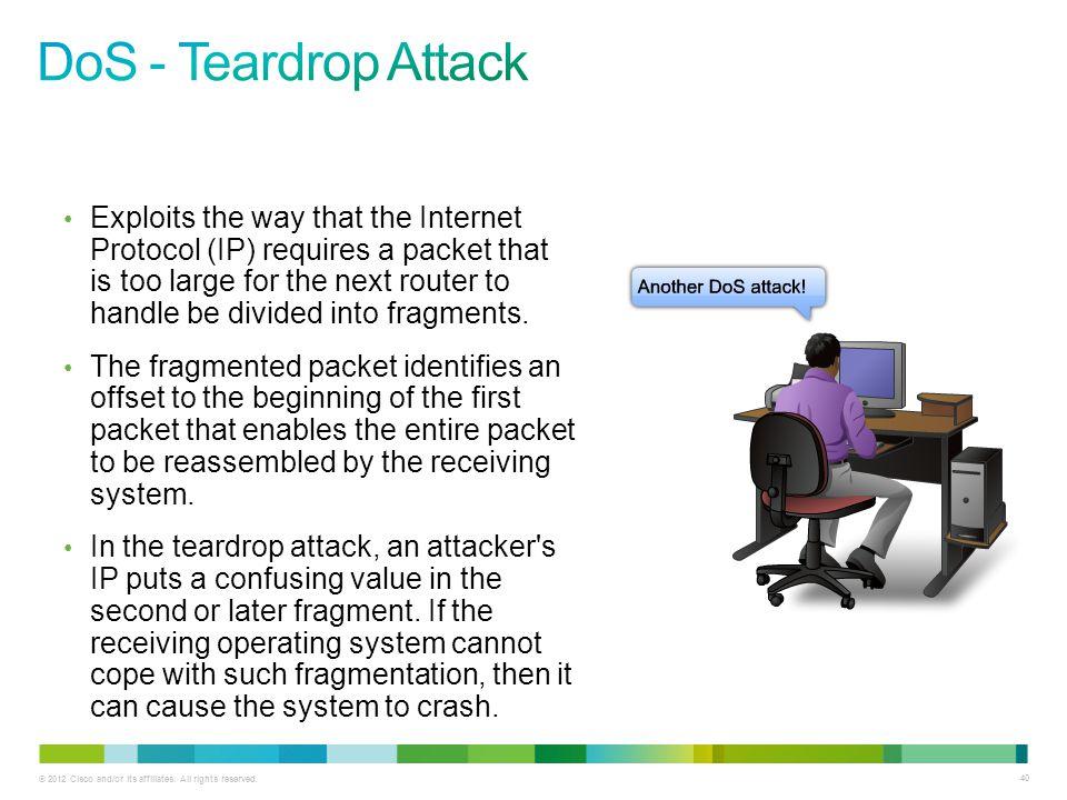 DoS - Teardrop Attack