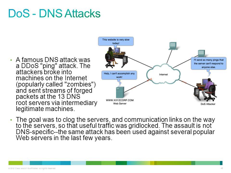 DoS - DNS Attacks
