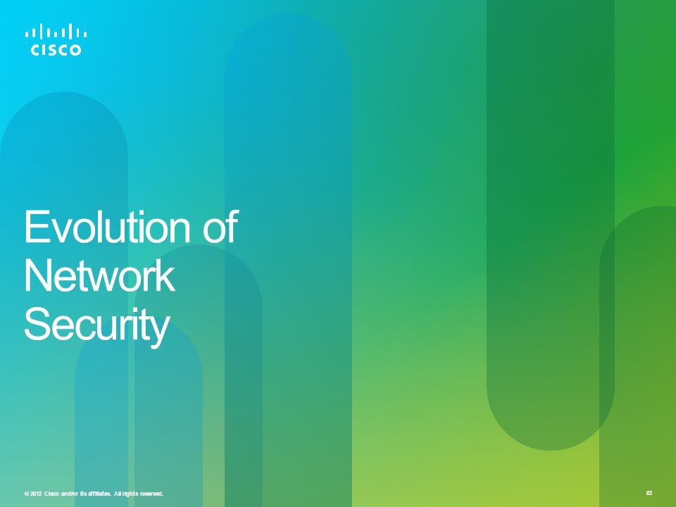 Evolution of Network Security