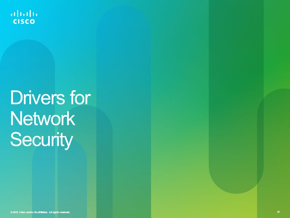 Drivers for Network Security