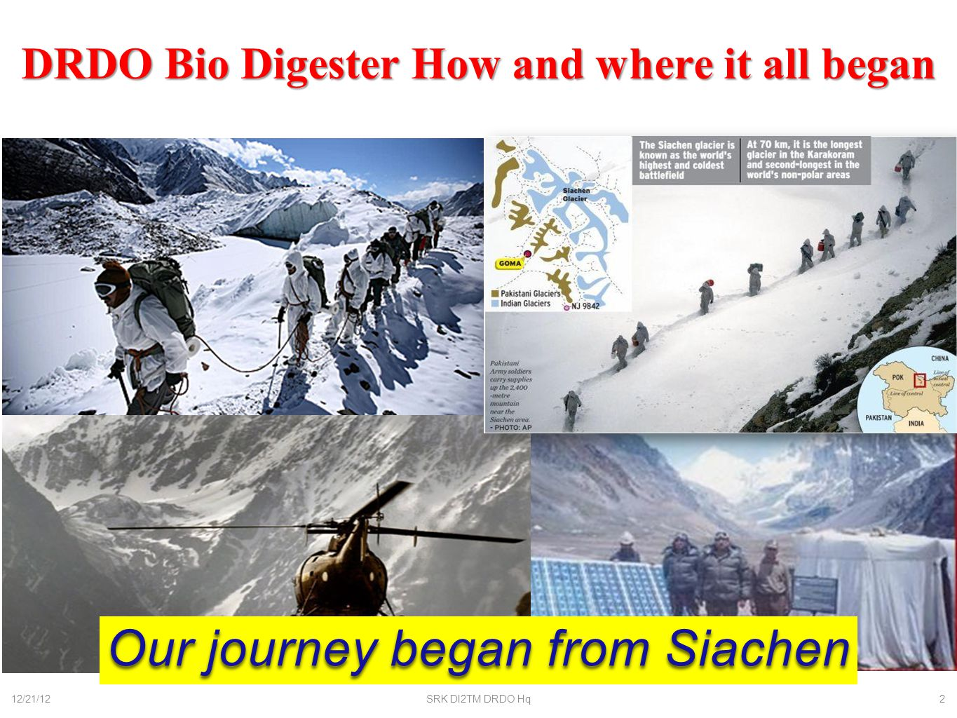 DRDO Bio Digester How and where it all began
