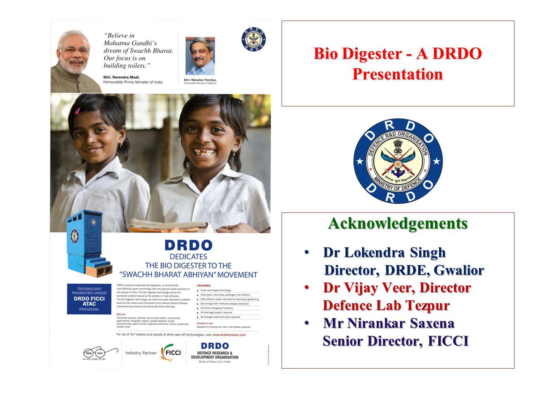 Bio Digester - A DRDO Presentation