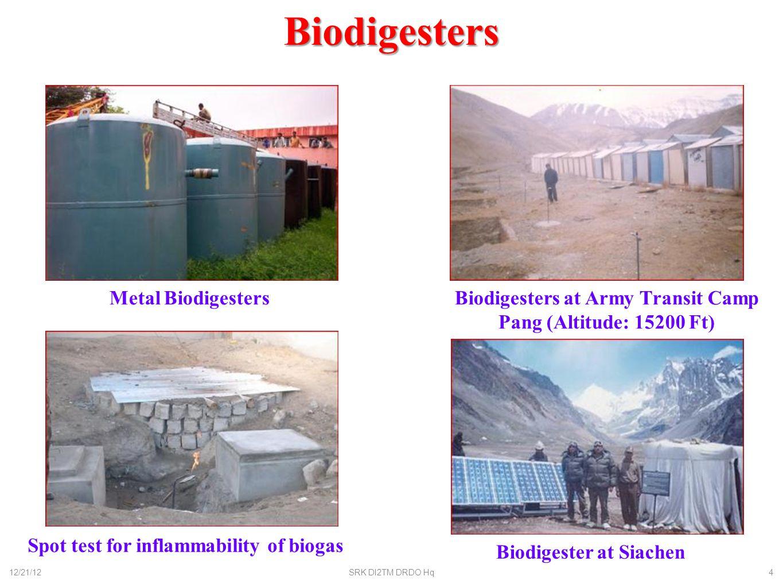 Biodigesters Metal Biodigesters
