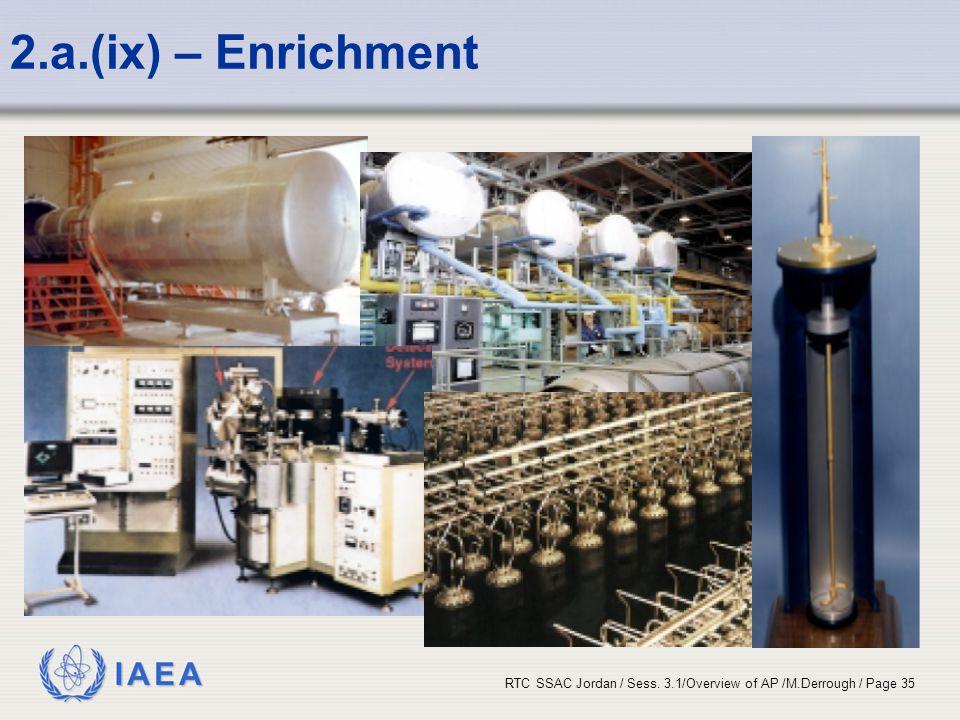 2.a.(ix) – Enrichment