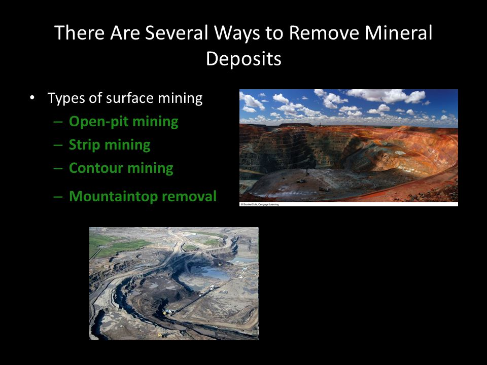 There Are Several Ways to Remove Mineral Deposits